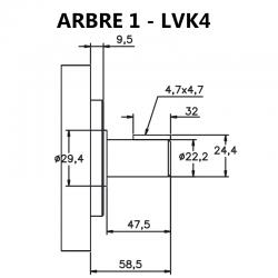 LVK4 (25V) - ARBRE